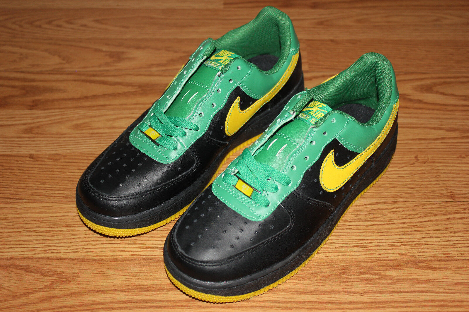 2007 Nike Air Force 1 AF-1 XXV Low Premium SIZE 8 BRAND NEW Green   Black