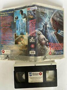 Vengeance the Demon RARE BIG CASE VHS VIDEO HORROR Ex ...