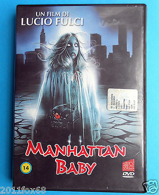 rare horror dvd manhattan baby lucio fulci movie martha taylor brigitta boccoli