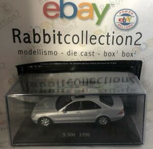 DIE-CAST-034-S-500-1998-034-MERCEDES-COLLECTION-SCALA-1-43-53