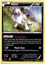 4x Pokemon Roaring Skies Absol - 40/108 - Holo Rare Card