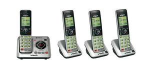 VTech-CORDLESS-TELEPHONE-4-SET-DIGITAL-DECT-6-0-PHONES