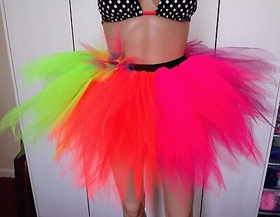 A very Bright and Full Tutu. Ideal for Carnival/Festival/Halloween/Fancy Dresss