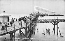 POSTCARD    KENT    MARGATE    The  Jetty &  SS  Kingfisher