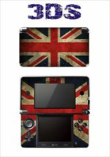 SKIN STICKER AUTOCOLLANT DECO POUR NINTENDO 3DS REF 52 ANGLETERRE - ENGLAND