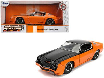 Jada 1:24 Bigtime Muscle 1979 Chevrolet Camaro Z28 Black// Red Display 31617 Car