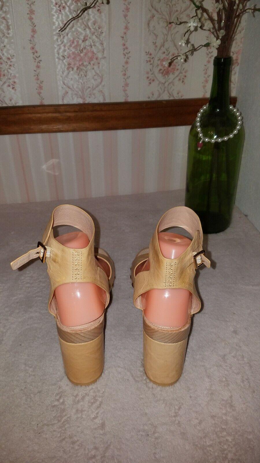 KELSI KELSI KELSI DAGGER BROOKLYN  Farris Platform Sandal in Marioro Leather Dimensione 7.5 ed2678