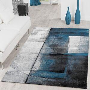 Wohnzimmer Teppich Mit Schattierung Eyecatcher Meliert in ...