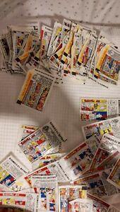 Vintage Bazooka Joe Bubble Gum Comics Lot of 300 Wrappers