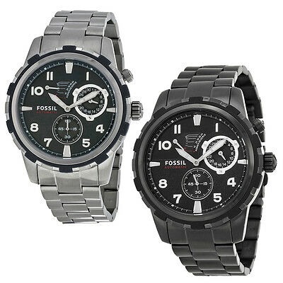 Fossil Dean PVD Stainless Steel Automatic Mens Watch