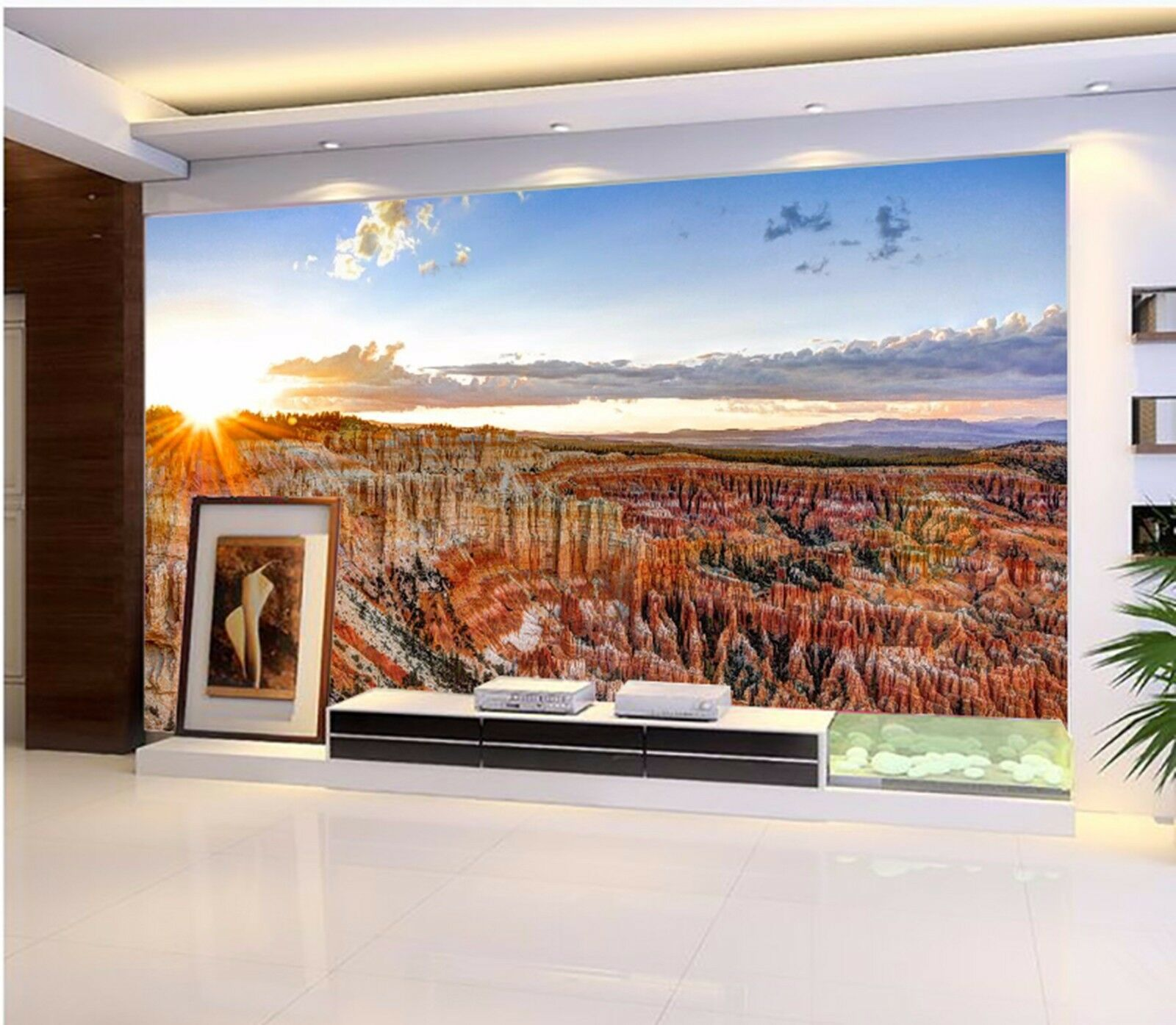 3D Sky Golden stone 2668 Wall Paper Wall Print Decal Wall Indoor Murals Wall US