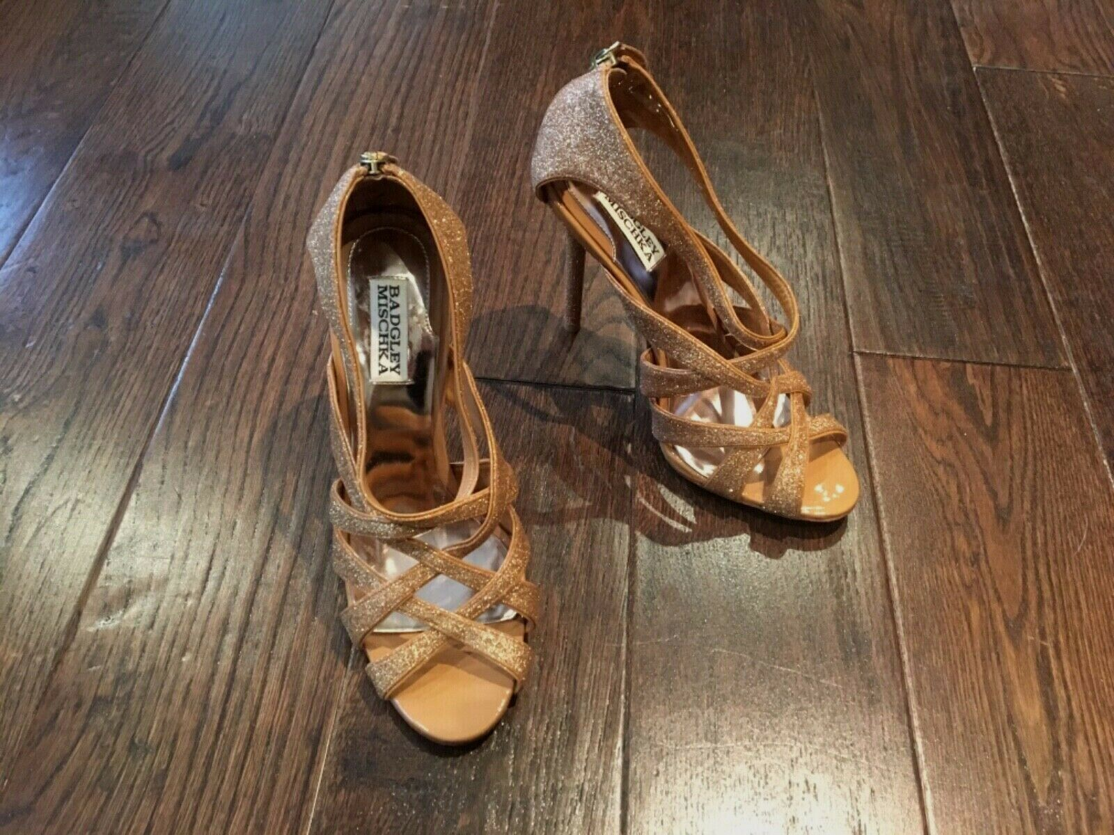 Badgley Mischka high heel shoes, new without tags,