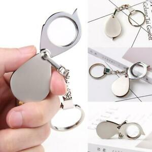 Multi-Keychain-Folding-Daily-Magnifying-Glass-Outdoor-For-Camping-Travel-Tools