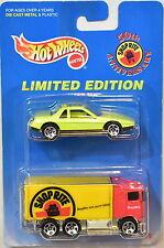 HOT WHEELS 1996 PONTIAC FIERO 2M4 - HIWAY HAULER 2 CAR PACK SHOP RITE
