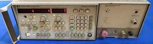 Agilent-HP-8350B-Sweep-Oscillator-w-86240B-RF-Plug-in