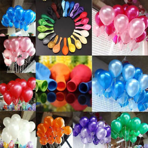 100PCS-10-034-perlee-Latex-Ballons-Anniversaire-Mariage-Baby-Shower-Party-Decor