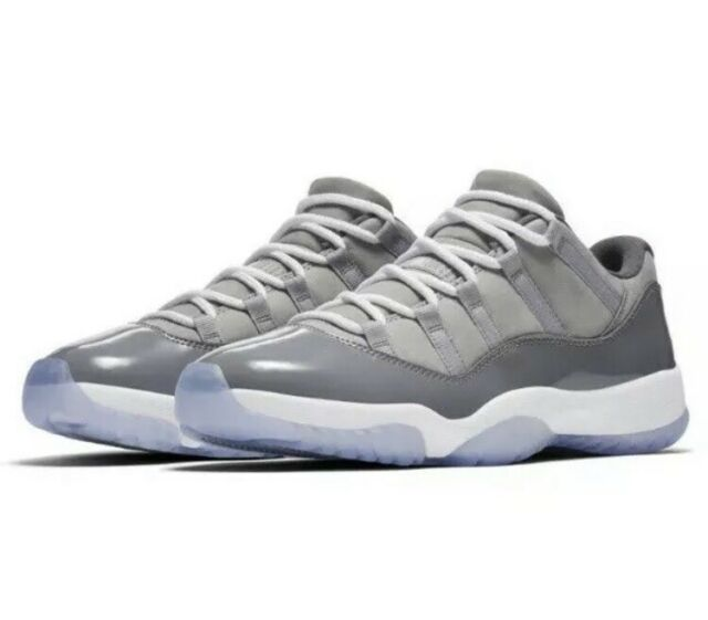 fa93a70e3d0e Nike Men s Air Jordan 11 Retro Low Cool Grey Basketball 528895-003 Size  11.5 🏀