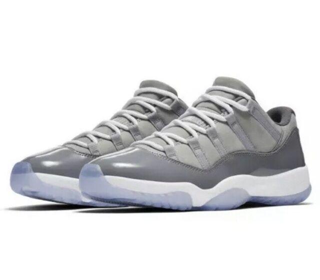 e759e68b7f05 Nike Men s Air Jordan 11 Retro Low Cool Grey Basketball 528895-003 Size  11.5 🏀