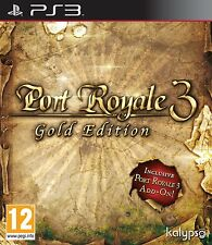 Port Royale 3 - Gold Edition For PAL PS3 (New & Sealed)