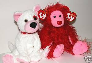 """prior 2 4th of July plush Classic /""""Baby Curly/"""" USA bear Patriot all ages TY"""