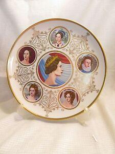 Queen Elizabeth Silver Jubilee Six Queens of England Plate- Rare