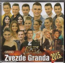 Zvezde Granda 2015 CD Haris Nenad Barbike Sead Belma Folk Best Hit Narodna Semir