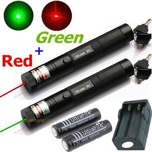10 Miles Military Green Red 1mw Laser Pointer Pen Light