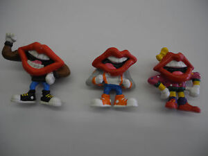 Vintage Dairy Queen Mouth Lips Mascot PVC Action Figures ...