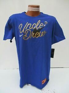 competitive price 3b846 7b278 Details about Nike Kyrie Irving Uncle Drew Basketball T-shirt Blue Sz M, L  BQ6202 495 NEW $35