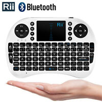 Rii I8bt Wireless Bluethooth Mini Keyboard Mouse Touchpad Tablets/phones Wht 036