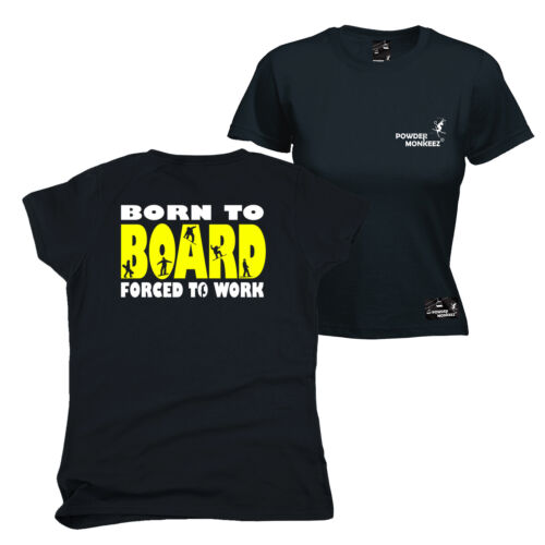 Ski Snowboard Tops T-Shirt Drôle Nouveauté Femme tee tshirt FB BLPM 1 123 T 1
