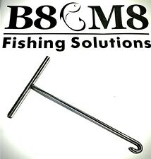 """8/"""" STAINLESS T BAR SEA FISHING DISGORGER"""