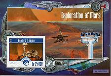 Sierra LEONE 2015 MNH Esplorazione di Marte IV S / S spazio curiosità ROVER