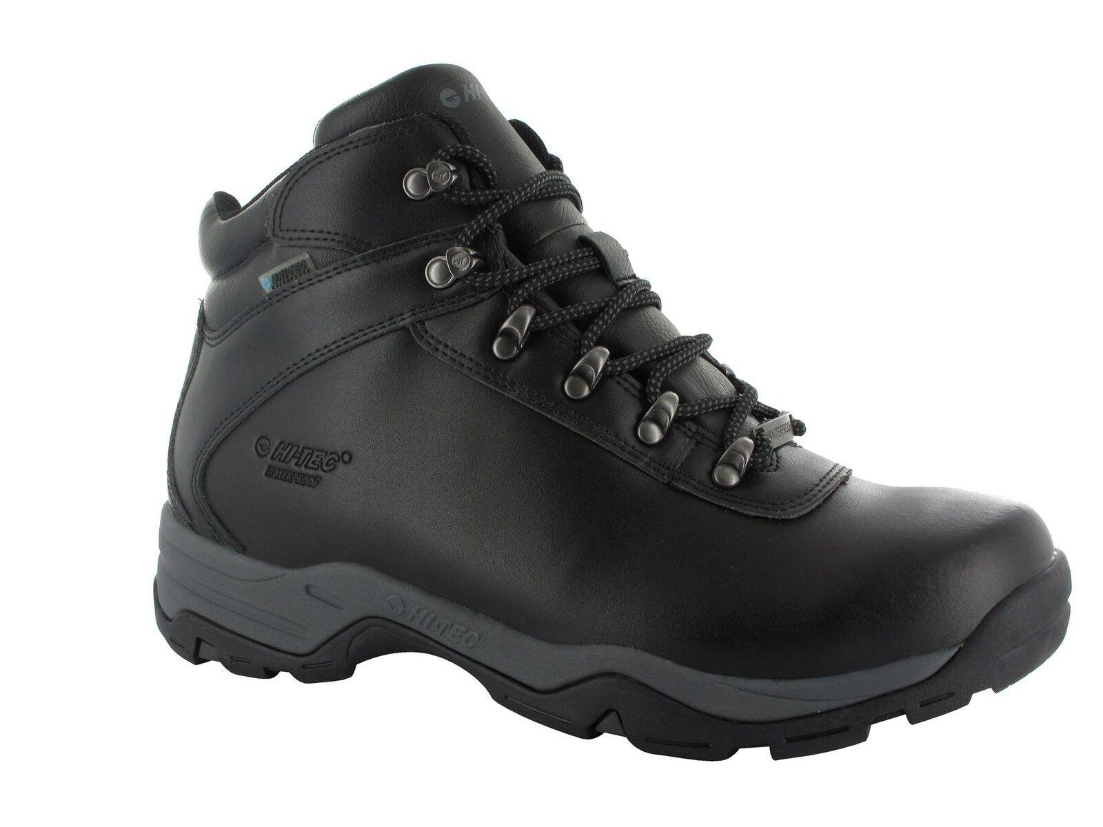 Hi Tec Eurotrek Impermeabile Stivali taglia III in nero in taglia Stivali uk6 a uk16 96cb57