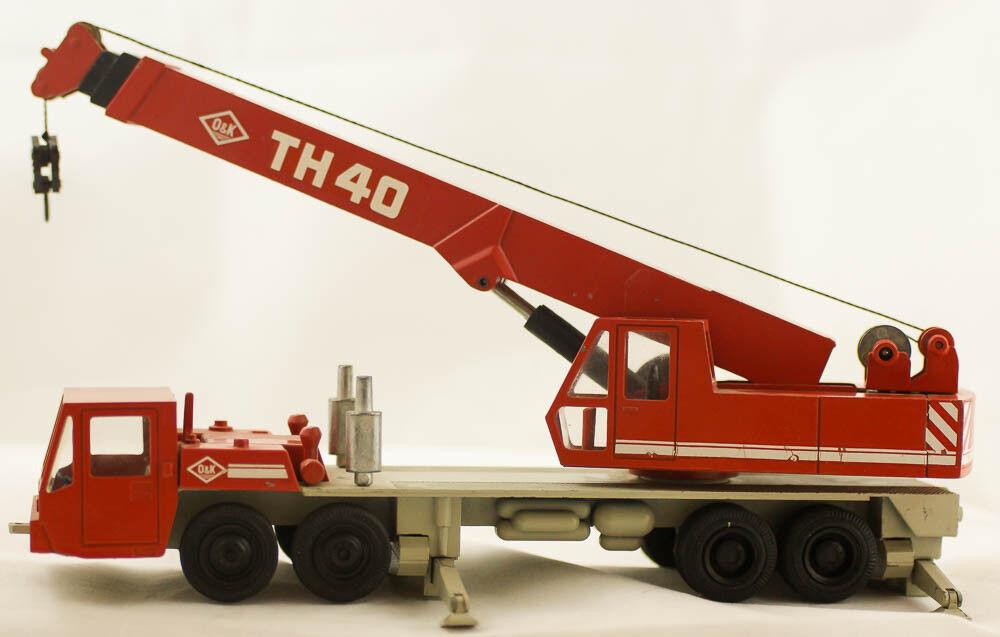 NZG MODELLE o&k TH40 Mini-hydraulikkran