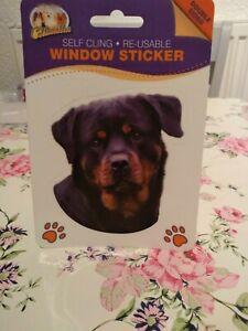 Rottweiler-Window-Sticker