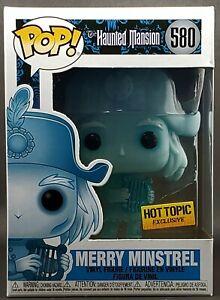 Funko Pop Disney #580 Merry Minstrel Ghost Haunted Mansion Hot Topic MINT!!