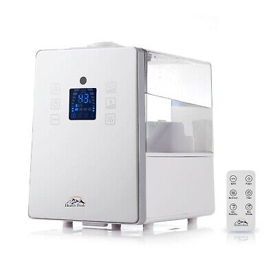 Digital Ultrasonic Cool & Warm Mist Humidifier with Aroma Function HF 710