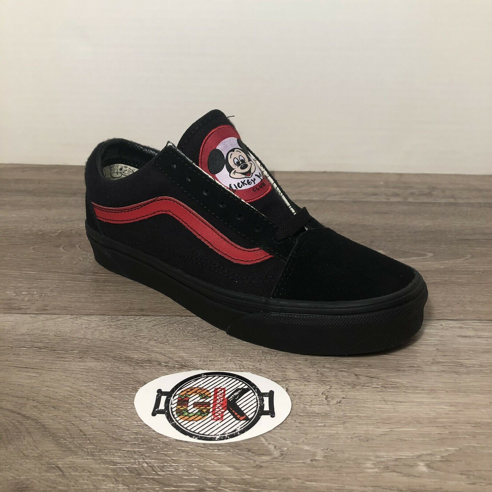 NEW w  box Disney Vans Mickey Mouse Club 90th Old Skool zapatos MEN 4.5 mujer 6