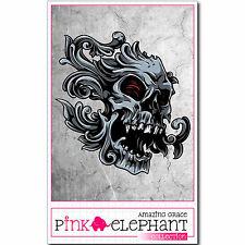 Aufkleber Buddy Skull 31-9,5 cm x 10 cm Totenkopf Sticker Wasserleiche