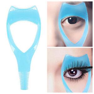 ebc51d41a08 2PCS 3 in 1 Women Mascara Shield Guard Eyelash Comb Applicator Guide ...