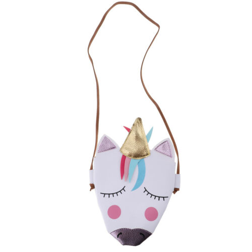 Cartoon Unicorn Messager Bag Handbag for Little Girls Birthday Gift