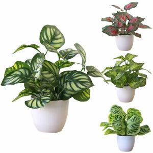 Am-Artificial-Foliage-Plant-Potted-Bonsai-Wedding-Party-Home-Mall-Shop-Hotel-De