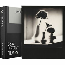 Impossible Project 600 B&W Instant Film Black Frame Polaroid 8 Photo PRD_4517