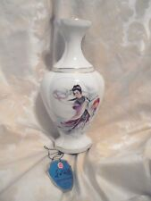 Vintage 1960s?ceramic Chinese wine vase by Hung Me With Original Label