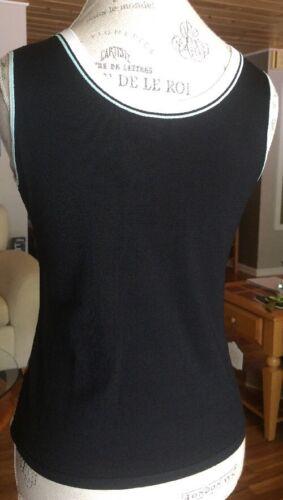 Nwt Mint Ny Størrelse Ærmeløs Vest Medium Carlisle Sweater Camel Kvinder Black 7vRAqP