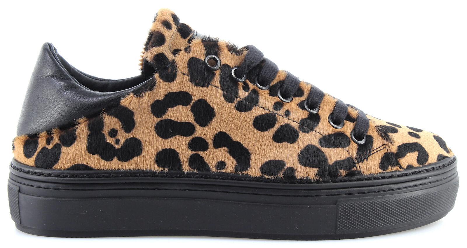 shoes women Sneakers PINKO 1H20CJ Dobbiaco 1 CZE Beige Beige Beige black Cavallino Nuove a53103