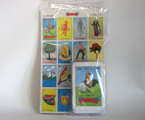 54 playing cards. Loteria Mexicana.Don Clemente La Original 20 playing boards