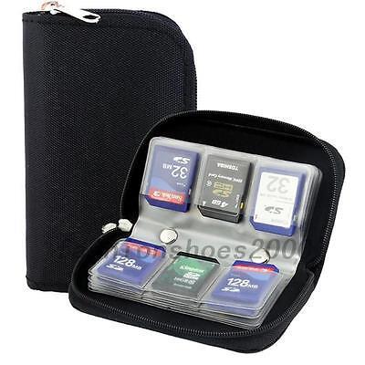 Speicherkartentasche Speicherkarten Kamera Schutz Tasche für SD Micro CF Profi
