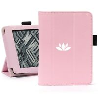 Kindle Paperwhite Leather Cover Case Auto Sleep Magnetic Stand Yoga Lotus